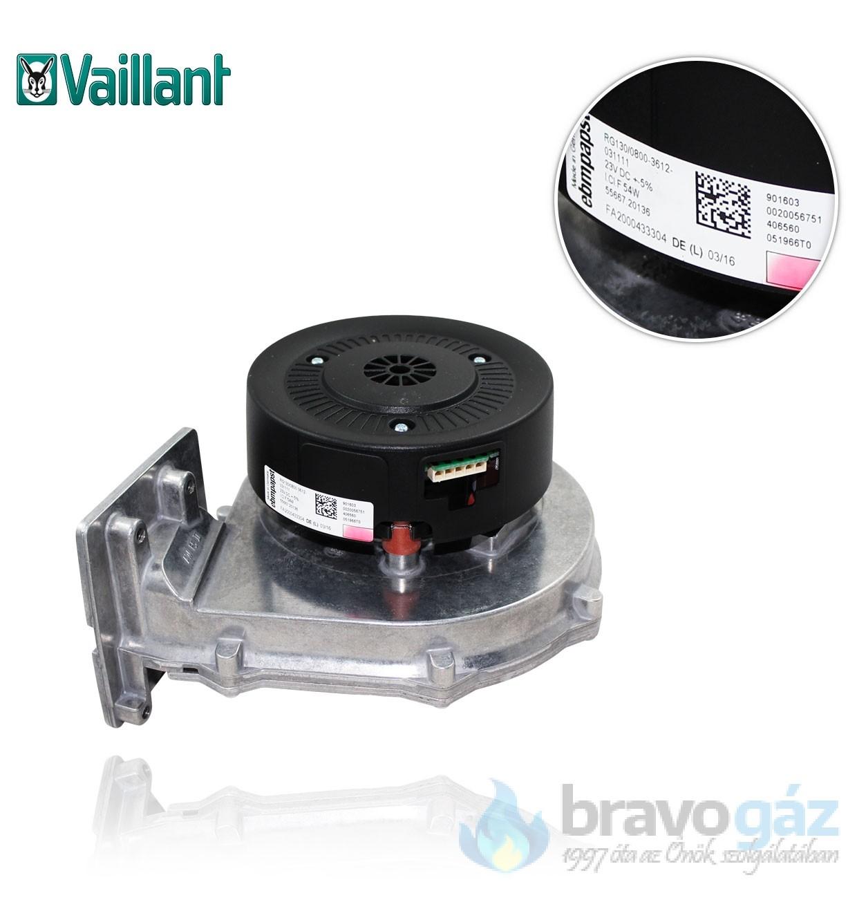 Vaillant ventilátor /3, VSC/2 193593