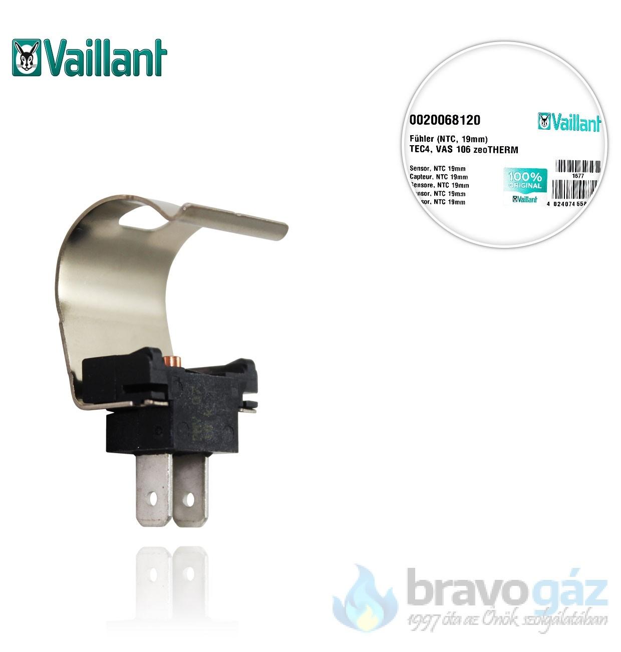 Vaillant NTC érzékelő /3 19mm 0020068120