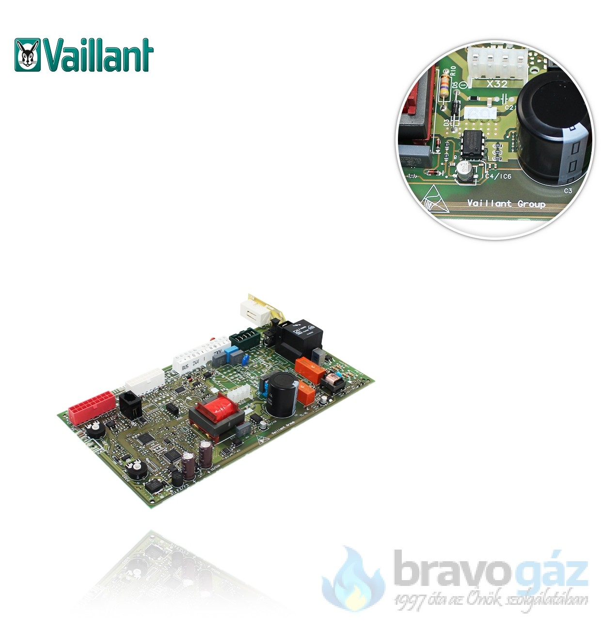 Vaillant panel Ecotec PRO/PLUS 0020132764