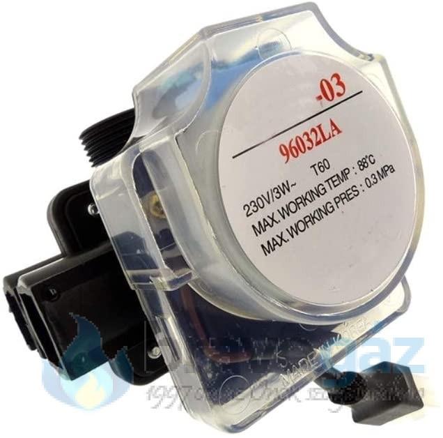 Radiant ATVA-03 átlátszó váltószelep motor golyós - 096032LP