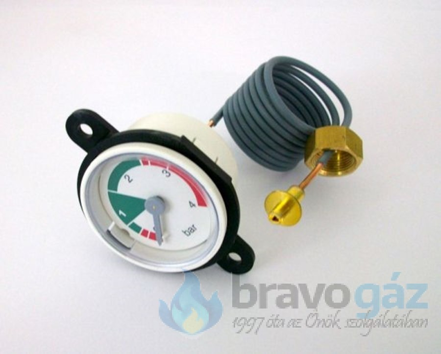 BAXI nyomásmérő kompl. NUVOLA 2000 kazánhoz (Régi: 9951020, 5656220) - JJJ009951830