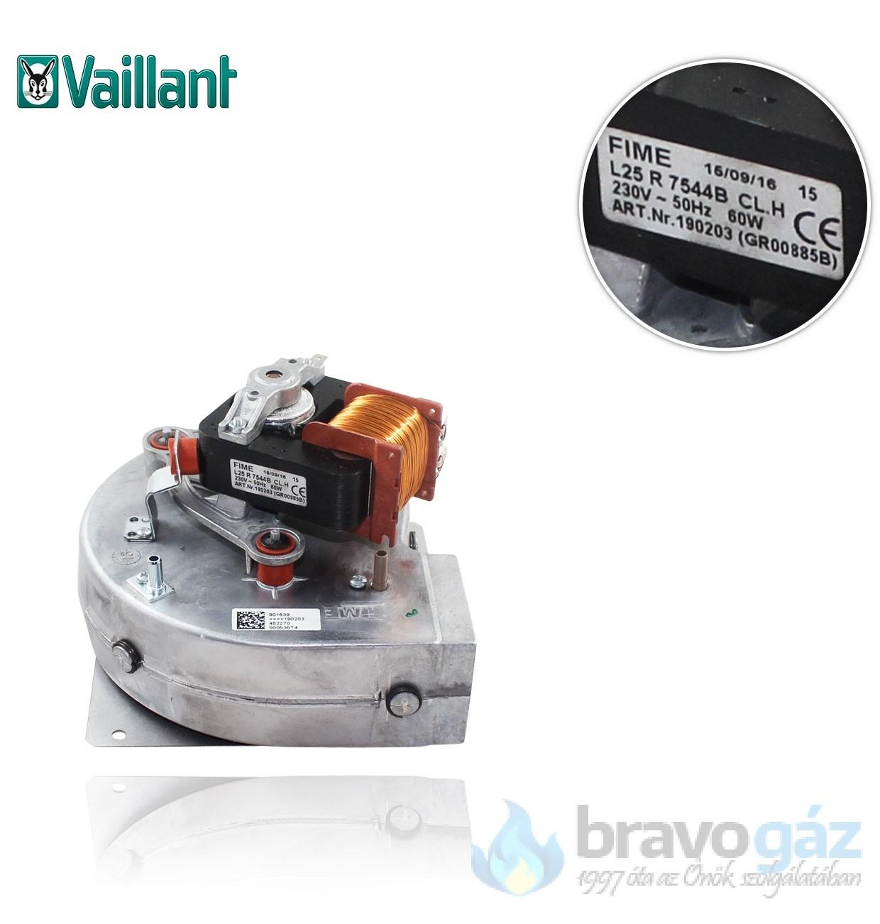 Vaillant ventilátor PRO/PLUS 190215