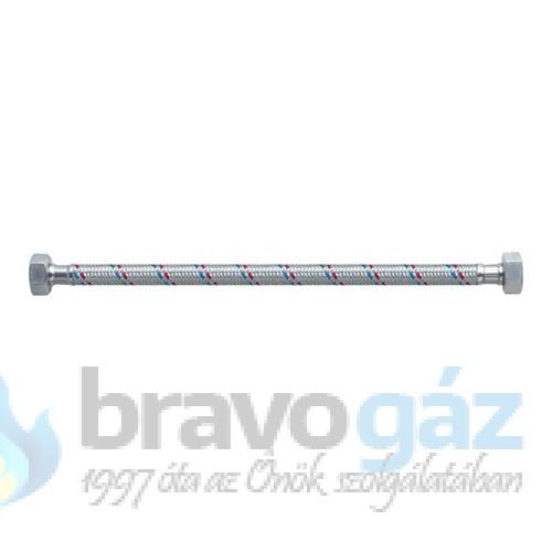 """Flexibilis cső vízre 1/2"""", 50cm, BB"""