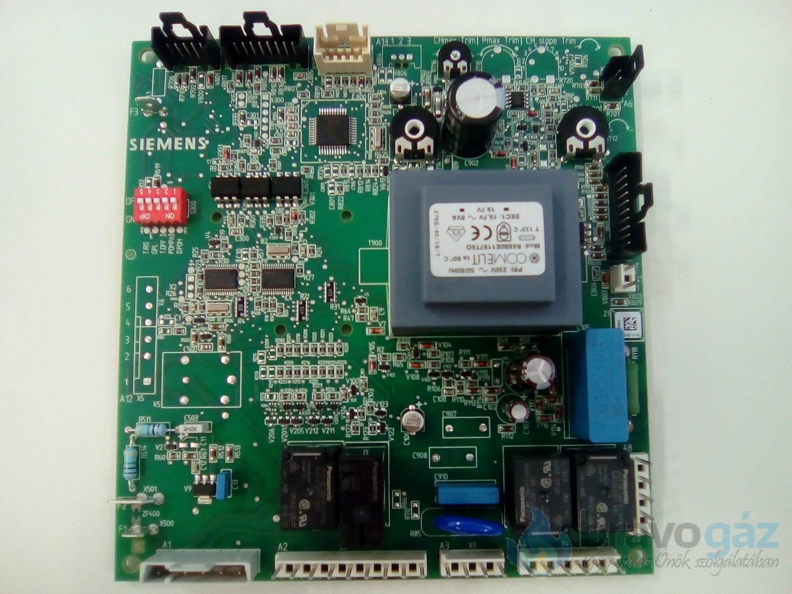 BAXI vezérlőpanel LMU33 Siemens (Régi: 5661740, 5669060) - JJJ005678250