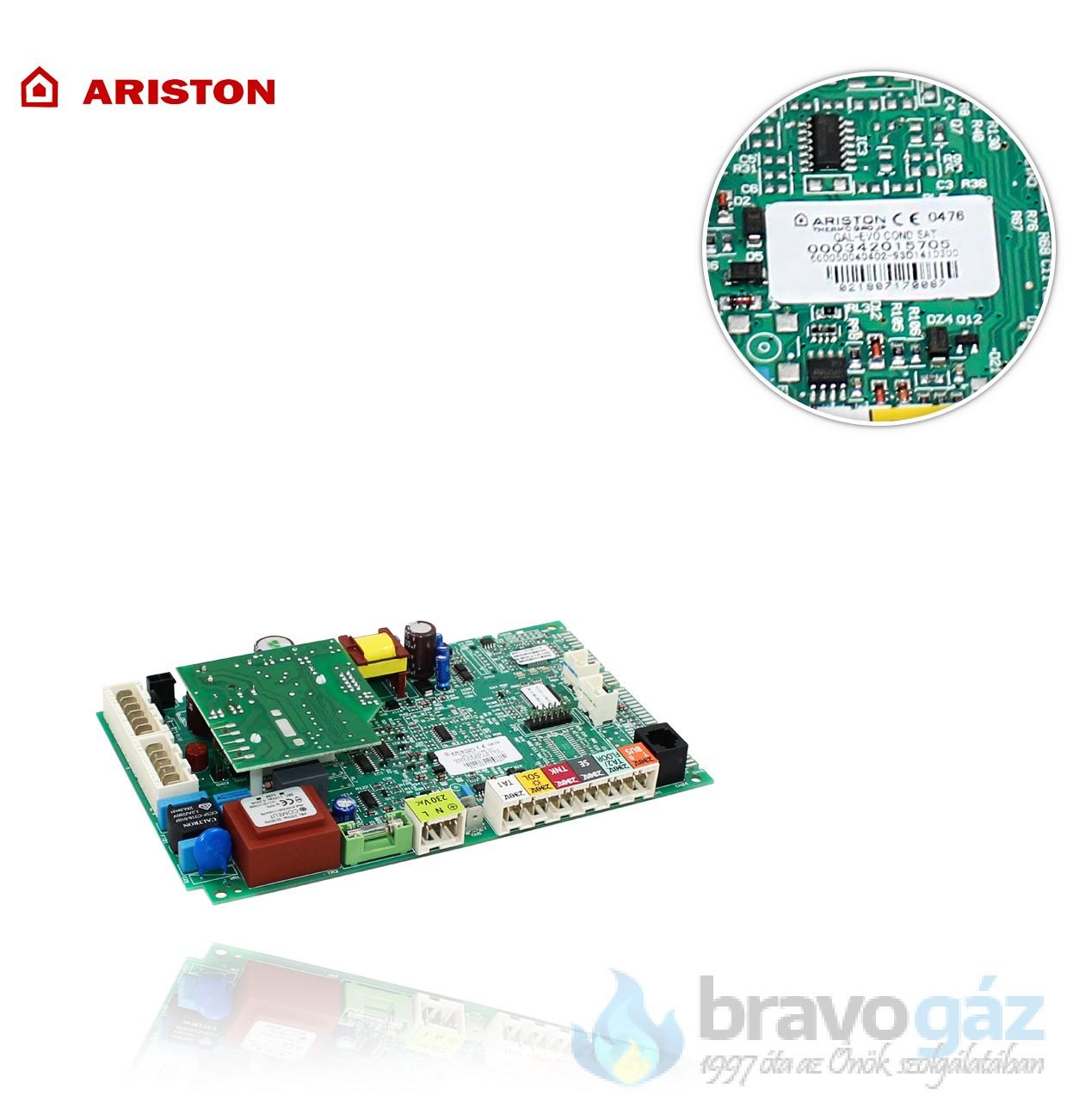 Ariston vezérlő panel - 60001898-04