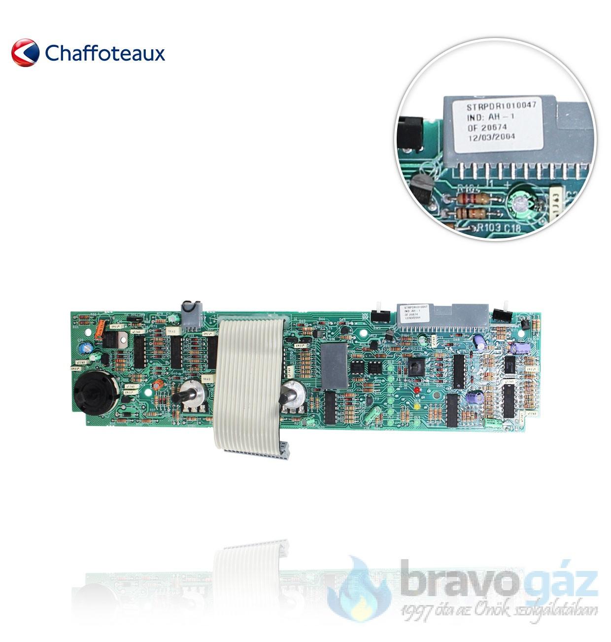 Chaffoteaux vezérlő panel  - 61010047