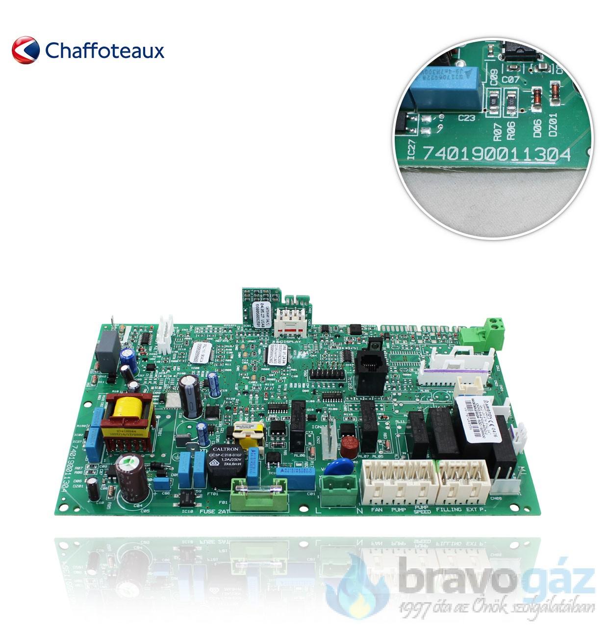 Ariston vezérlő panel - 65109313-05