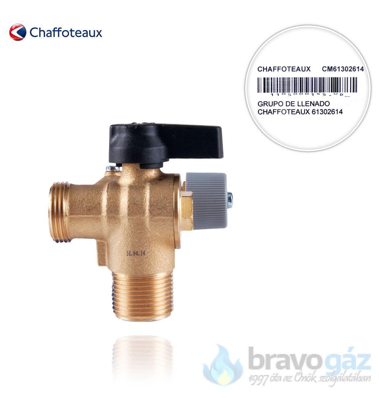 Chaffoteaux feltöltőcsap - 61302614