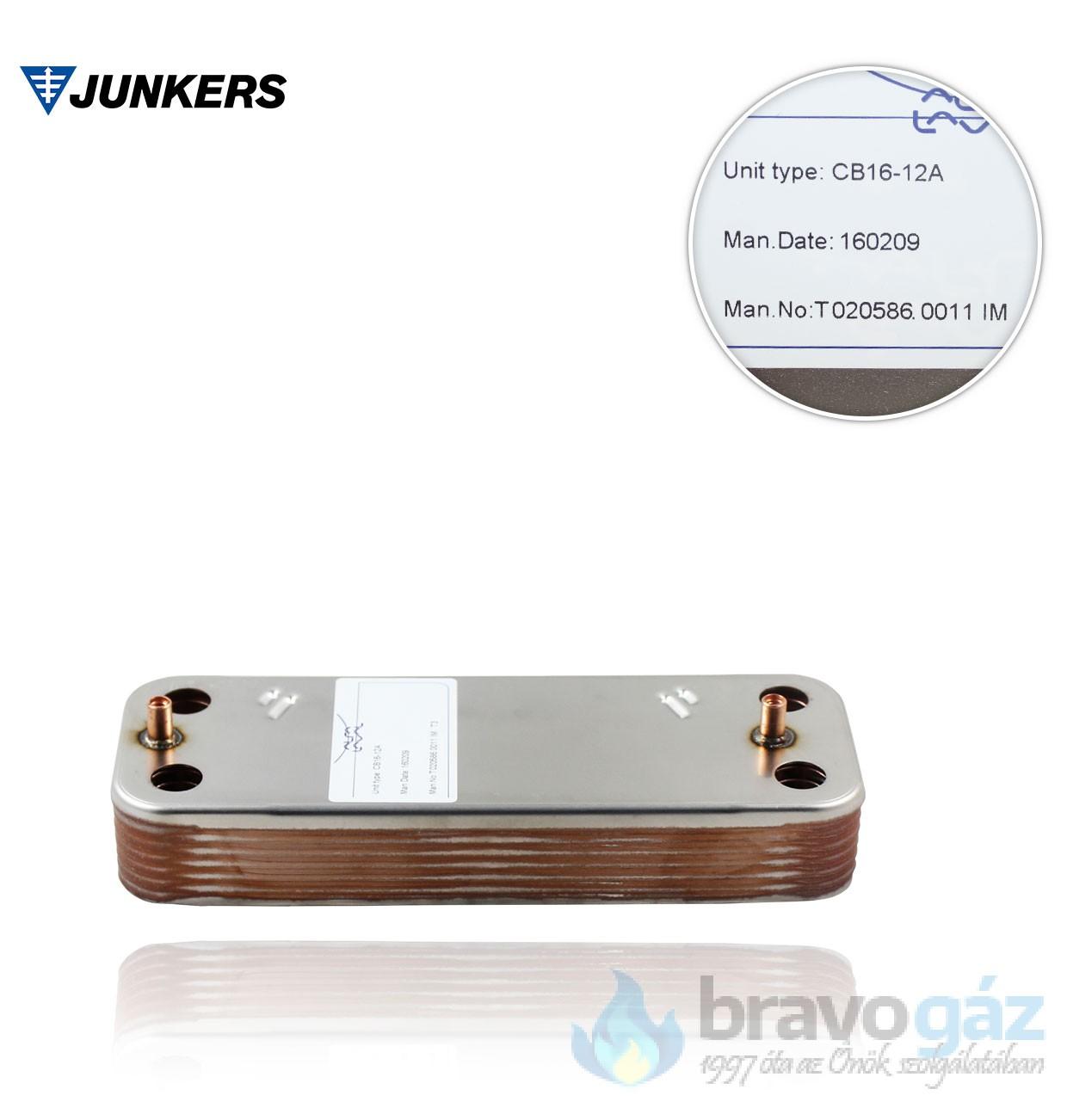 Bosch lemezes hőcserélő - 87054062870