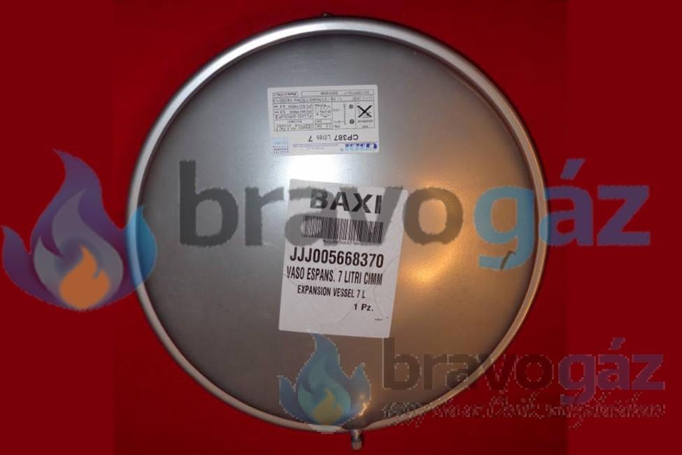 BAXI tágulási tartály (7 liter) szerelvényezés - 007219208