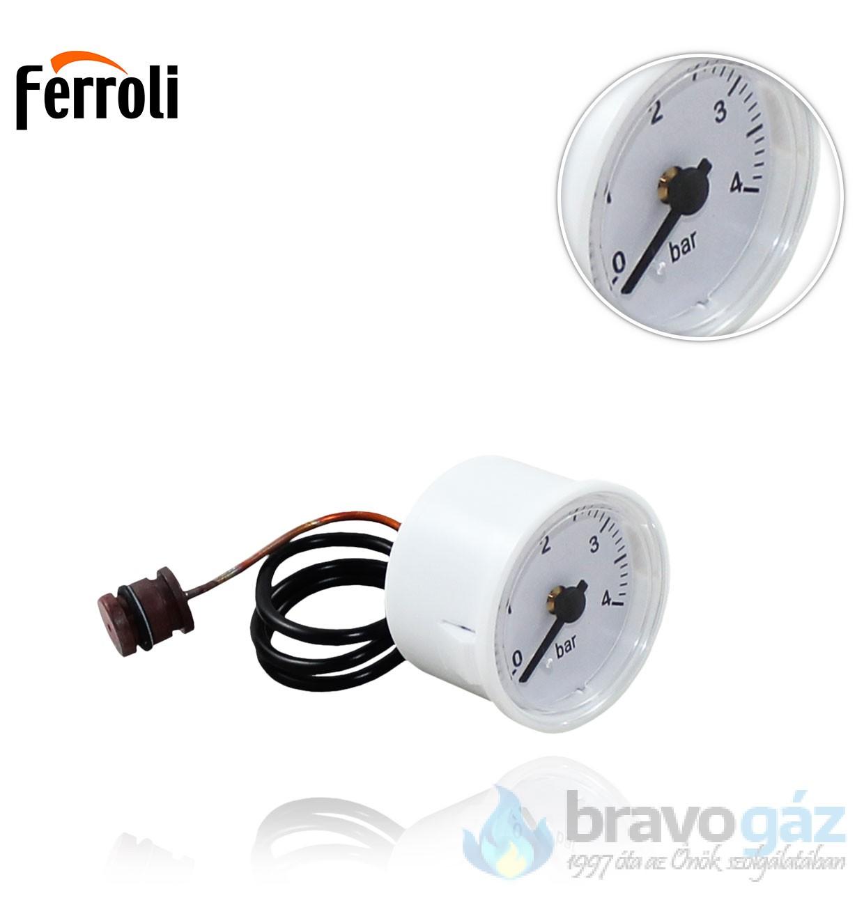 Ferroli nyomásmérő óra Domicompact
