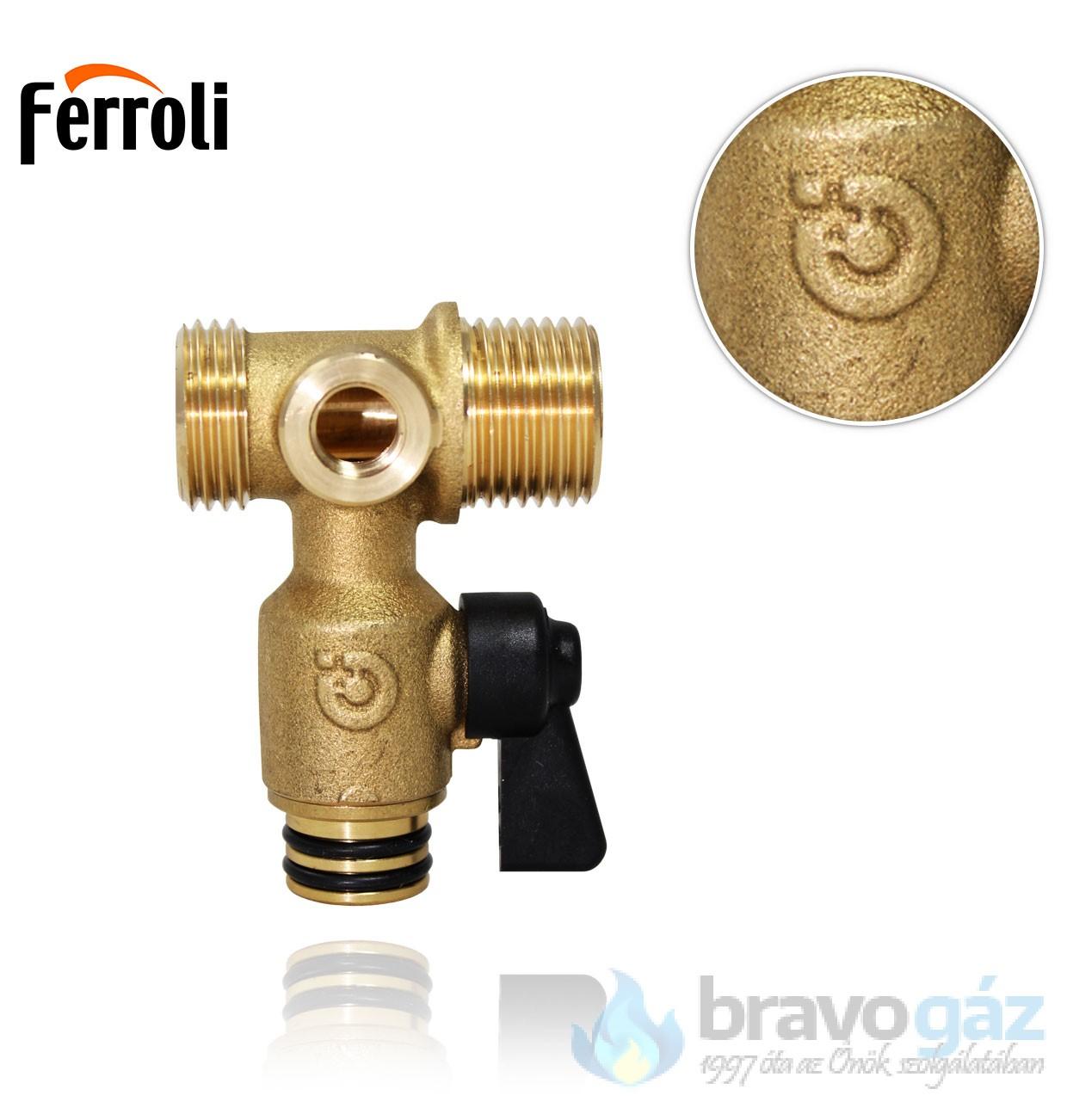 Ferroli feltöltőcsap rövid
