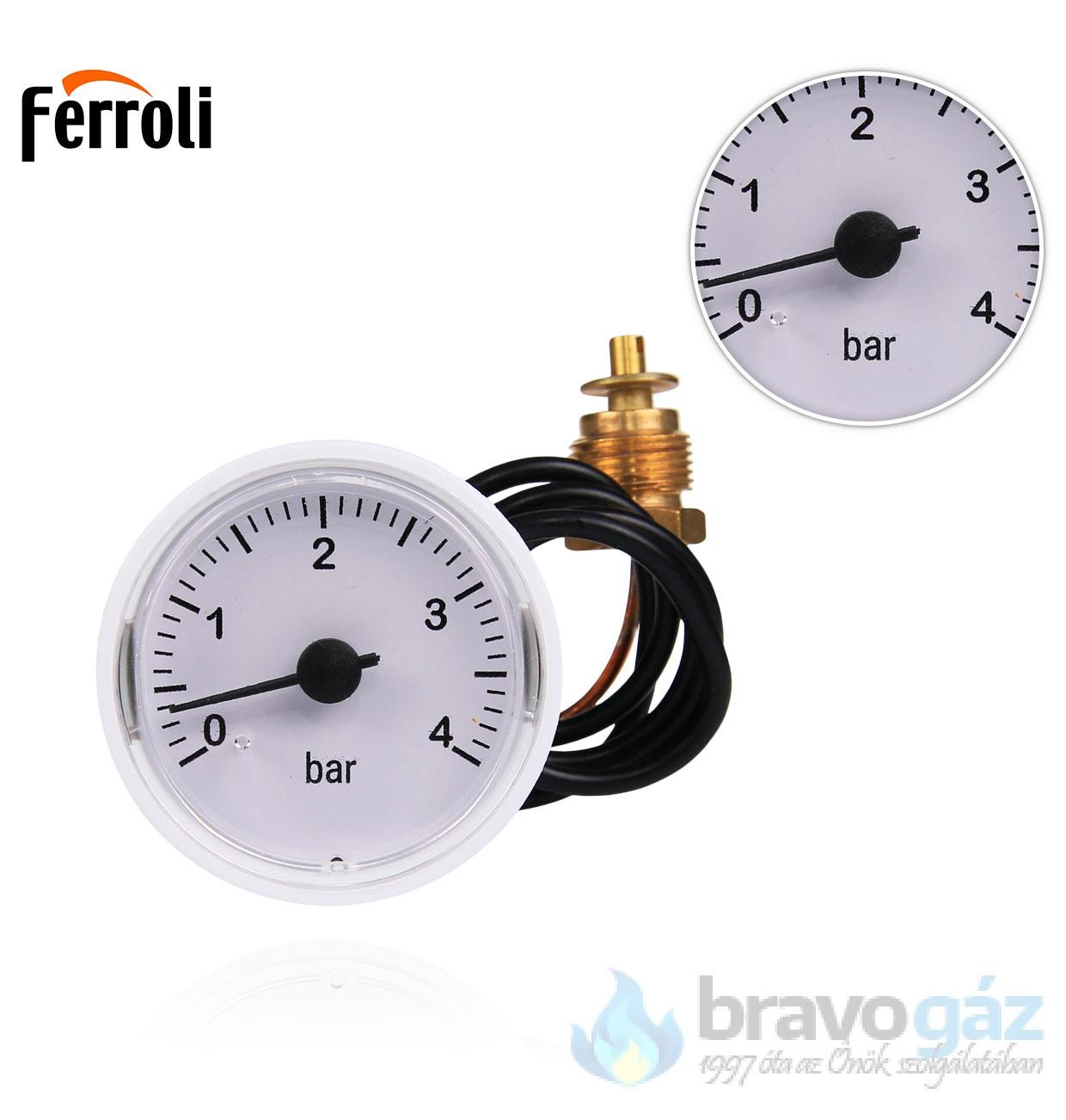 Ferroli nyomásmérő óra