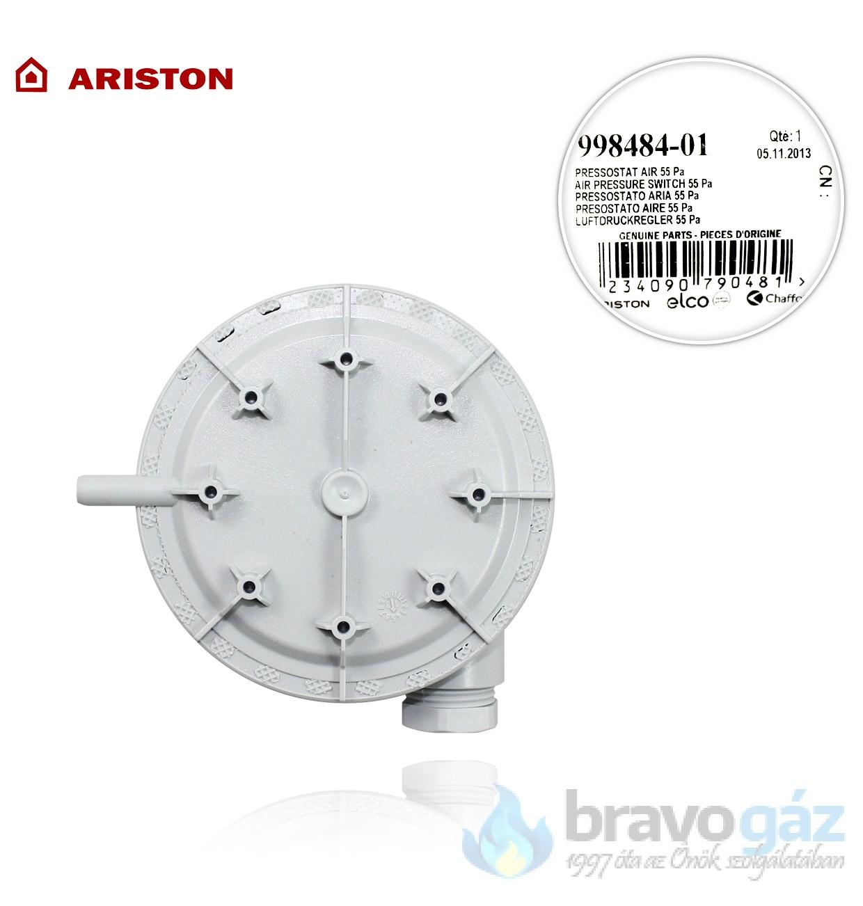 Ariston presszosztát 55 Pa - 998484-01