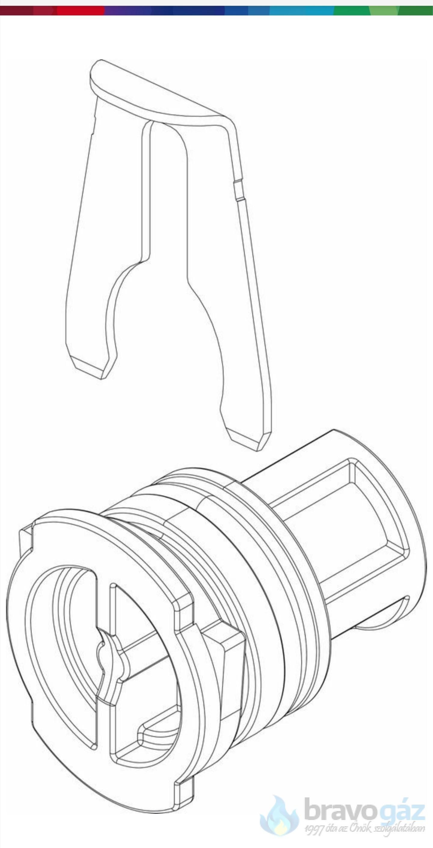 Bosch záródugó tömítéssel - 87186449090