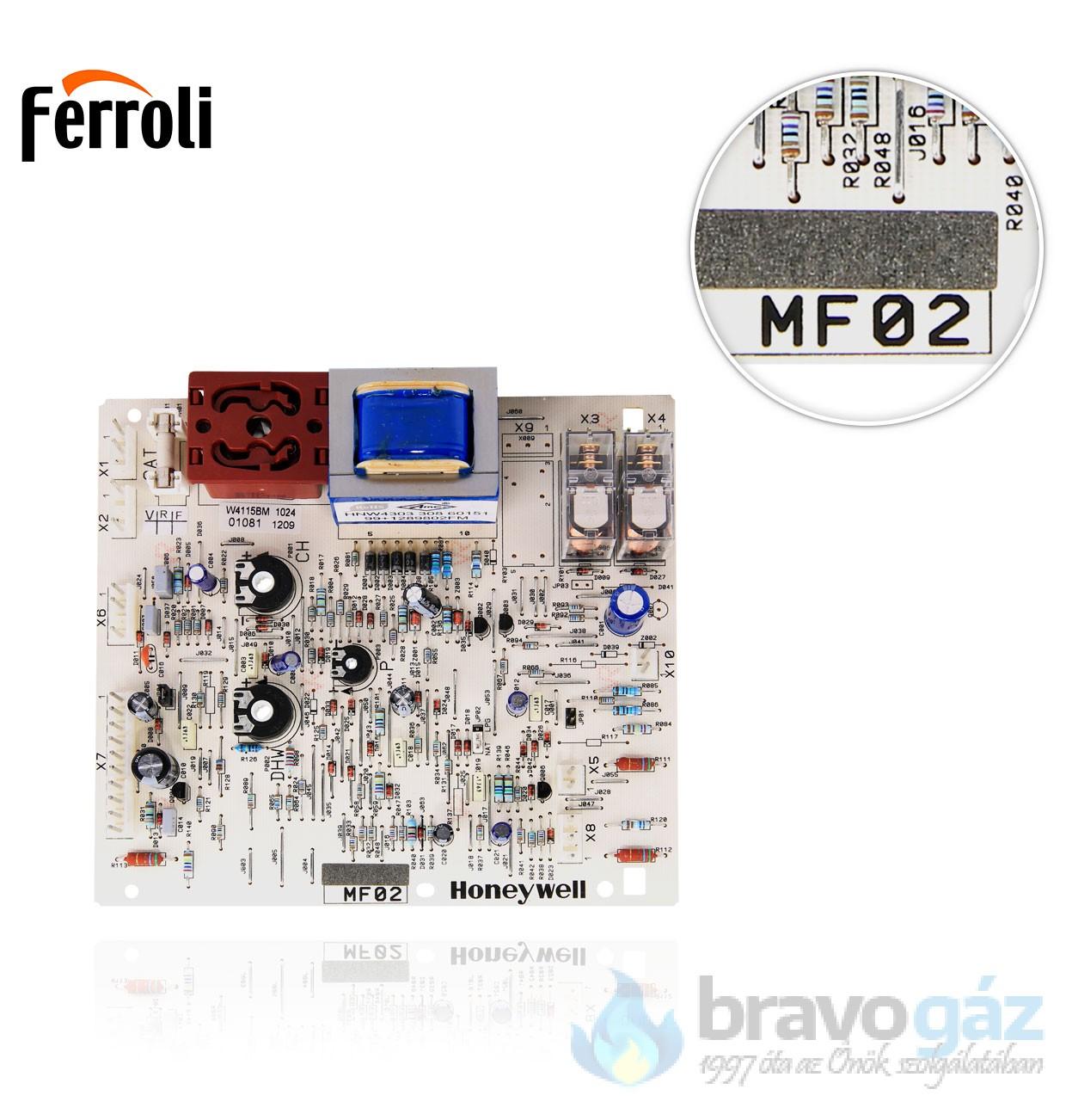 Ferroli vezérlőpanel MF02