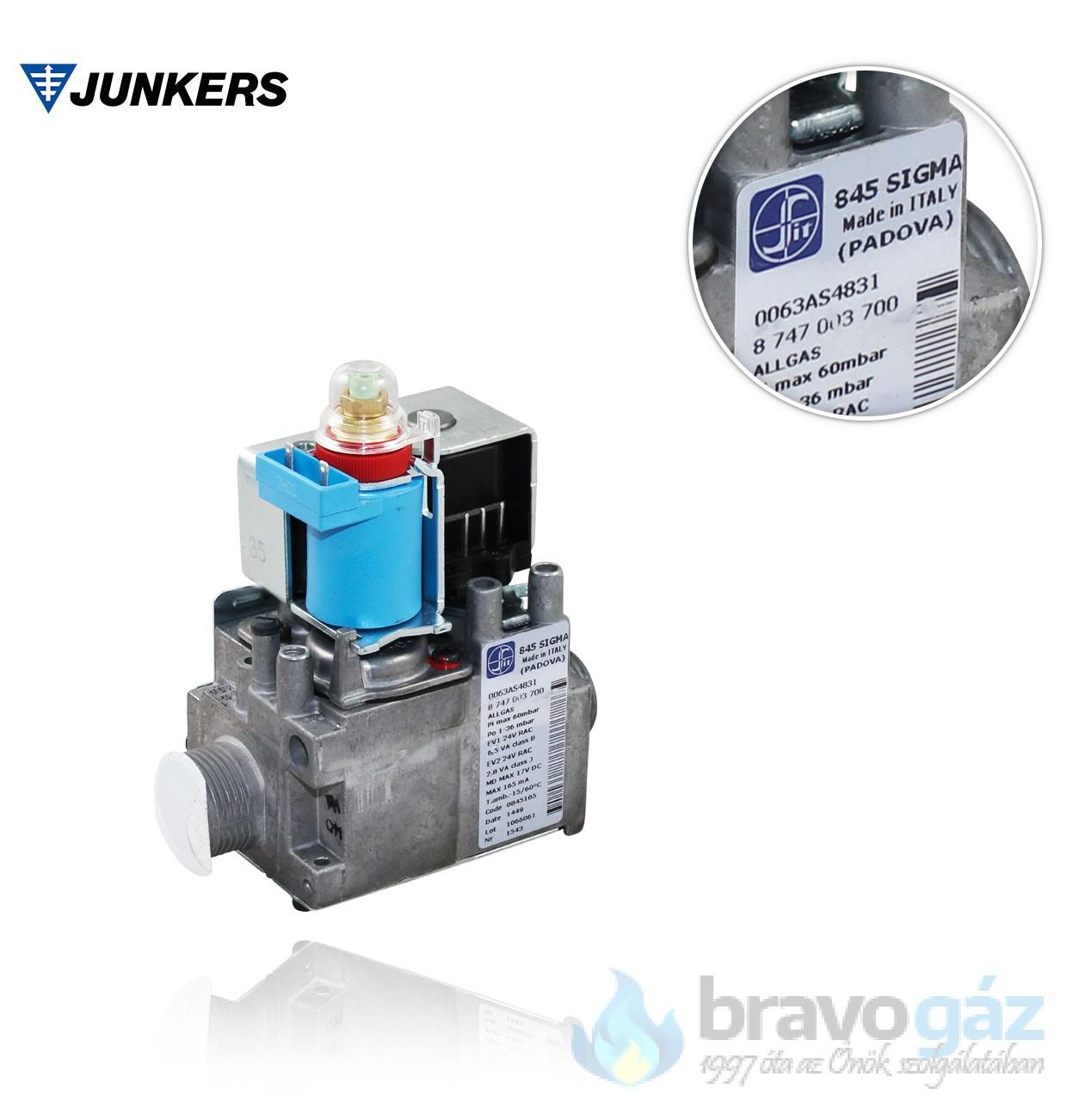 Bosch gázszelep - 87470037000