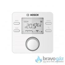 Bosch CR100 digitális szobatermosztát, programozható, Heatronic 3