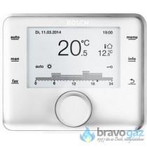 Bosch CW400 időjáráskövető szabályozó, digitális, heti prog., max.4 fűt.körhöz