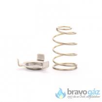 BAXI rugó + rugó ülék javító készlet szelephez - JJJ00620210