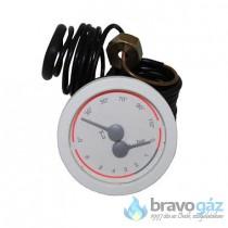 BAXI hőmérő és manométer (Régi: 9950480) - JJJ009950030