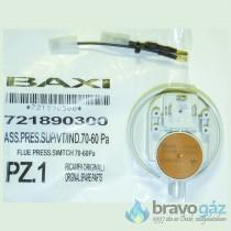 BAXI nyomáskapcsoló 70-60Pa indukciós kábellel (Régi: 628770, 710789900) - 00721890300